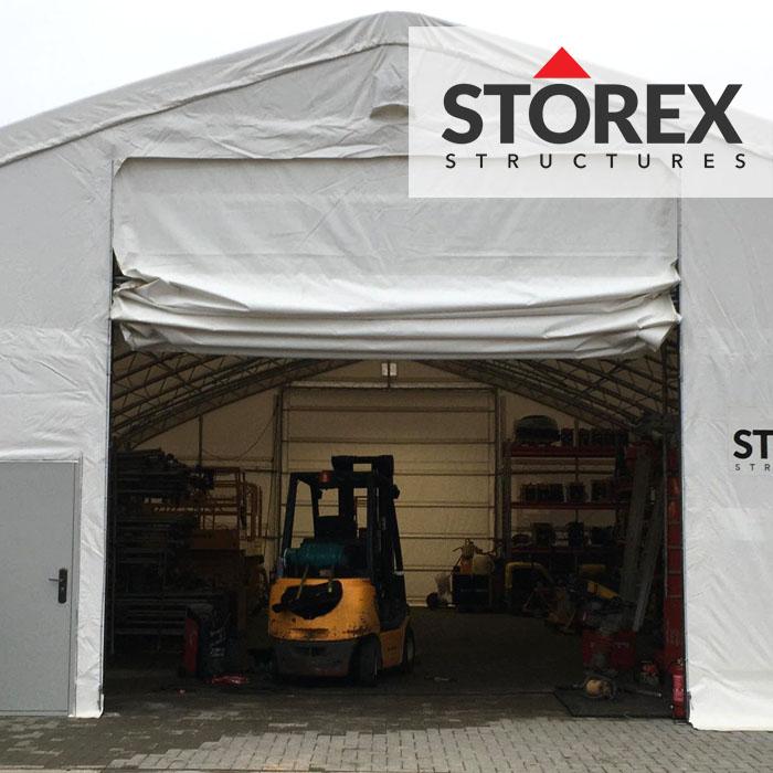STOREX TENT HANGAR GATE